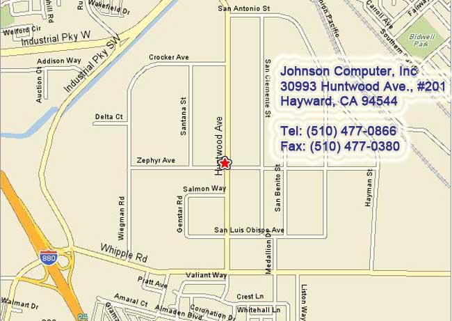 Contact Johnsoncomputer, Inc  - Contact us